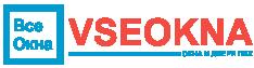 Vseokna - логотип компании